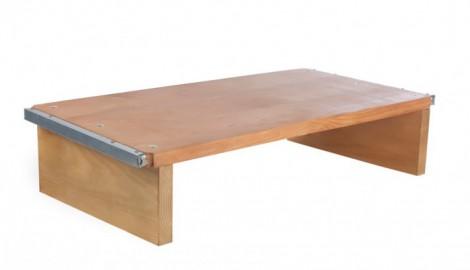 Bandeja para maquinas de bloques (bloqueras). Planche pour machines a beton. pallet for concrete machine.