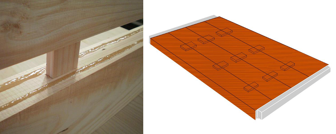 assembly system for wooden pallet